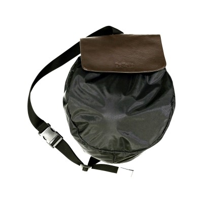 sac cuir marron DalZotto - 800 M - casque moto