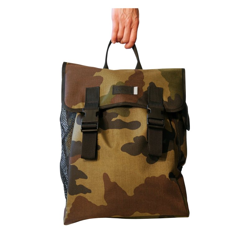 dalzotto sac dos camouflage army vintage casque de motard artisanat france cachalo. Black Bedroom Furniture Sets. Home Design Ideas