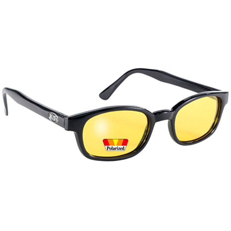 KD's 20129 -1 polarized yellow sunglasses par cachalo