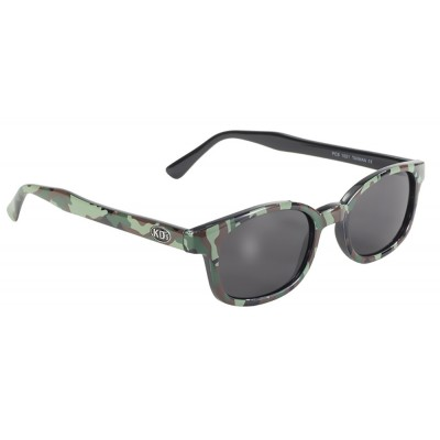X-KD's 1021 -1 camo sunglasses smoke lenses by cachalo