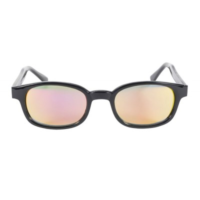 KD's 20114 -2 clear color mirror sunglasses by cachalo