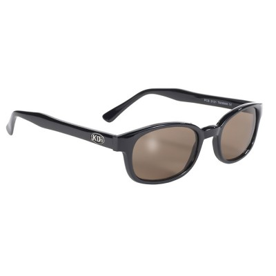 KD's 2121 -1 - brown lens - black frame - sunglasses by cachalo
