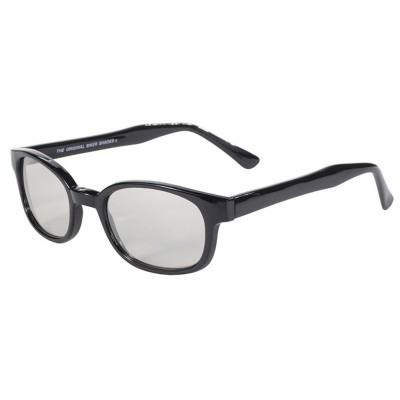 KD's 20113 -3 - clear mirror sunglasses par cachalo