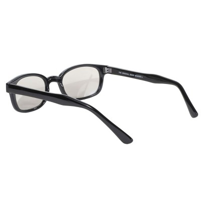 KD's 20113 -5 - clear mirror sunglasses by cachalo