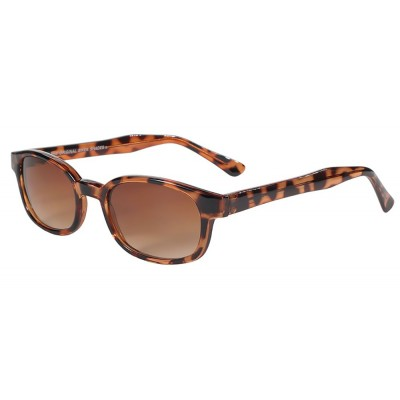KD's 200 -3 - tortoise brown pale sunglasses par cachalo
