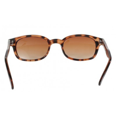 KD's 200 -6 - tortoise brown pale sunglasses par cachalo