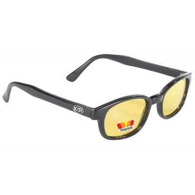 KD's 20129 -2 polarized yellow sunglasses par cachalo