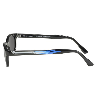 X-KD\'s 1227 -5 pipe smoke sunglasses by cachalo