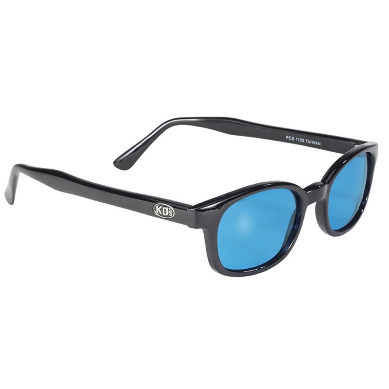 1 - lunettes soleil X-kd's turquoise 1129 - cachalo.com