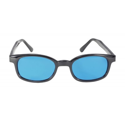 X-KD's 1129 -2 turquoise lens sunglasses by cachalo