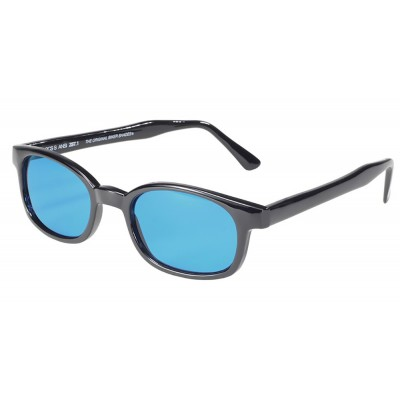 3 - lunettes soleil X-kd's turquoise 1129 - cachalo.com