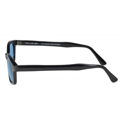 4 - lunettes soleil X-kd's turquoise 1129 - cachalo.com