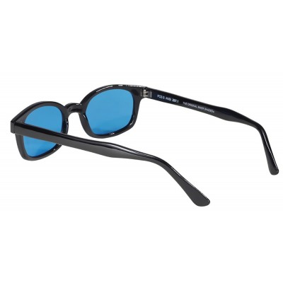 5 - lunettes soleil X-kd's turquoise 1129 - cachalo.com