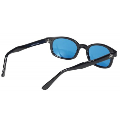 X-KD's 1129 -7 turquoise lens sunglasses by cachalo
