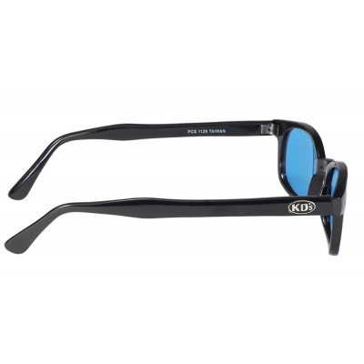 X-KD's 1129 -8 turquoise lens sunglasses by cachalo