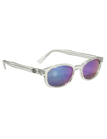 KD's 22018 -1 chill clear frame colored mirror lens by cachalo