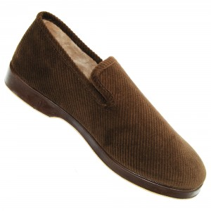 Chaussons TeviorBrown velours