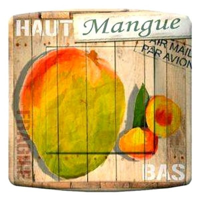 interrupteur décor - La mangue