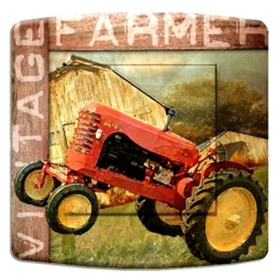 interrupteur décor - American farmer