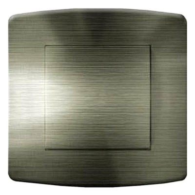 interrupteur décor - Aluminium anthracite